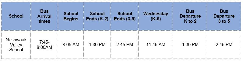 NVS Bus Times and Bell Schedule.JPG