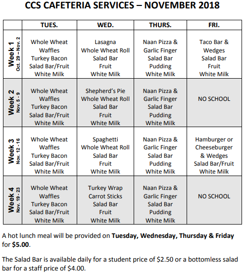 November's Cafeteria Menu.PNG